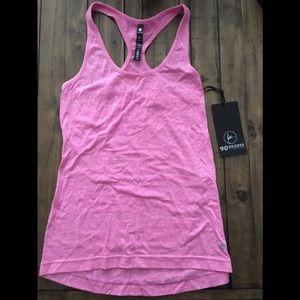 90 degree pink workout tank top NWT